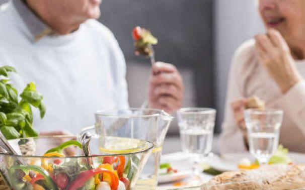 La alimentación en los ancianos
