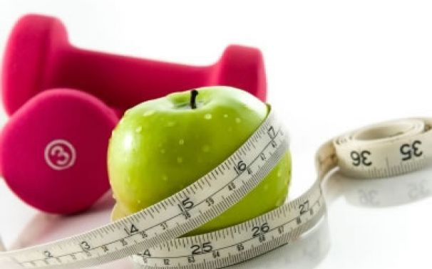 Diaria y ejercicios rutina de dieta